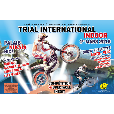 LE TRIAL INTERNATIONAL INDOOR DE NICE